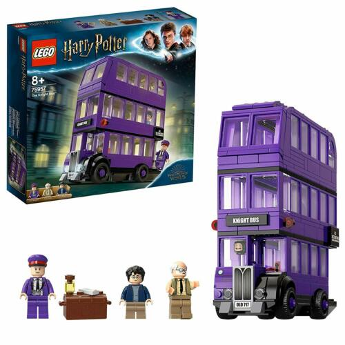 LEGO 75957 Harry Potter Knight Bus Toy Triple-Decker Collectible Set With