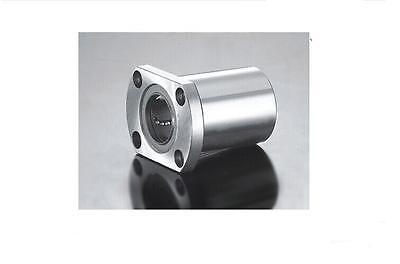 2pcs LMH16UU 16mm H Flange Linear Bearing Ball Bushing 16x28x37mm CNC Parts