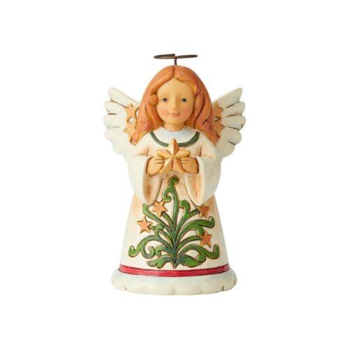 6004297 Jim Shore Christmas Mini Angel with Star NIB