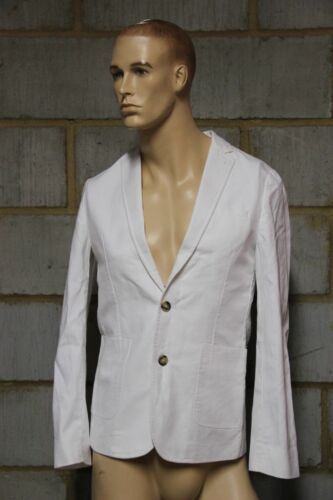 Chest White Cotton In 36in Washed Slim Colour Men's Size Fit Asos Blazer wzgZUq6a