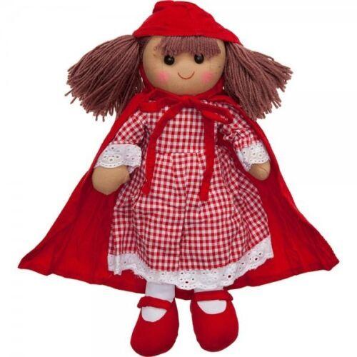 Powell Craft Bambola di pezza-CAPPUCCETTO ROSSO-regalo di Natale-Compleanno Ragazze
