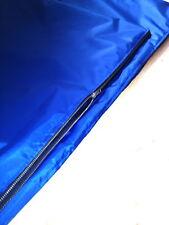 EXTRA large impermeabile resistente dog bed COPERTURA DI RICAMBIO BLU CON CERNIERA COPERCHIO 48I x30