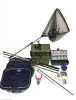 Complete Starter Coarse Float Fishing Kit Set .dam 12ft Rod, Reel, Box ,tackle