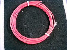 NUMBER 10 AWG TEFLON WIRE STR  MILTARY SPEC M16878/4 RED  10 FEET