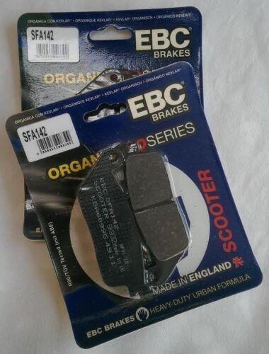 2 Sets SFA142 2005 to 2015 Kymco Xciting 500 EBC Organic FRONT Brake Pads