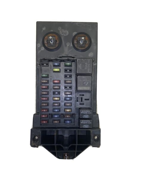 1997 1998 FORD F-150 INTERIOR DASH FUSE BOX JUNCTION RELAY ...