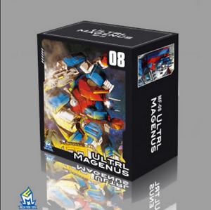 MFT Transformers  MF 08 pocket war send heat and label toys