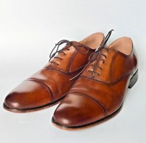 269f8df6f72 Details about Steve Madden Men's Herbert Oxford Lace-up closure Brown Dress  Shoes Size 9