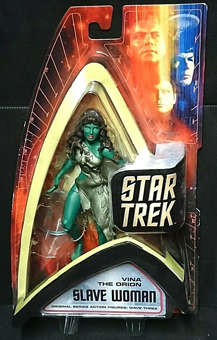 Star Trek Original Serie Wave tres Vina la donna esclava Orion 7  Art Asylum