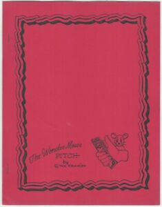 The-Wonder-Mouse-Pitch-by-Stan-Kramien-Magic-Showmanship-Magician-Booklet