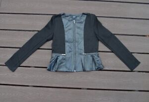 Bardot-Junior-sized-faux-leather-jacket-zippered-down-all-sizes-100-price-NWT
