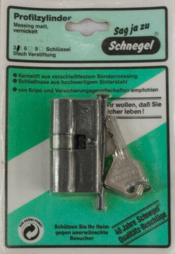 Profil Cylindre Türschloß Double Cylindre Cylindre De Verrouillage Laiton 27,5 X 32,5 mm