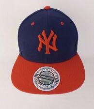 City Hunter NY NEW YORK OSFM Snapback OSFM Baseball Cap Hat