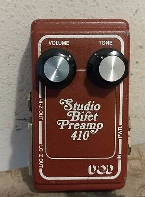 RARE DOD 410 Studio Bi-Fet Preamp Vintage Guitar Bass Effect Pedal. Not reissue!