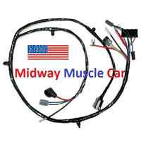 Front End Wiring Harness Chevy Pickup Truck Suburban 63-66
