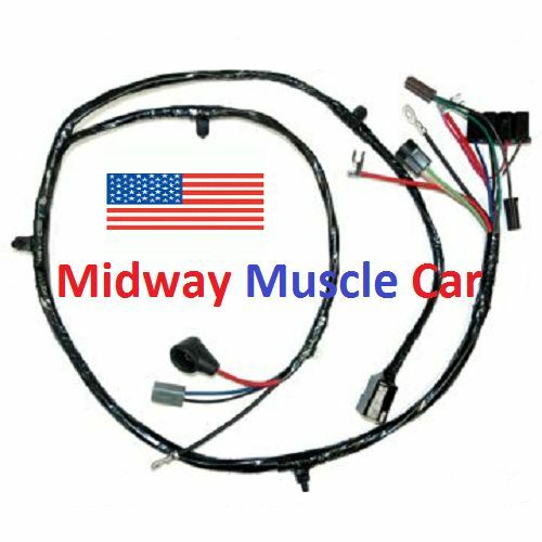 front end wiring harness chevy pickup truck suburban 63-66 | ebay on chevy  truck 63 chevy truck light