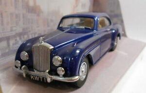 DINKY 1/43 SCALA DIECAST MODELLO DY-13B 1955 Bentley 'R' CONTINENTAL Blu