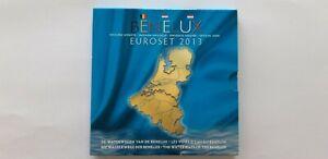 BENELUX 2013 Coffret BU Euro - 3x 8 pièces de 1 cent à 2 euro
