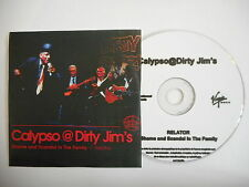 """CALYPSO DIRTY JIM""""S : SHAME AND SCANDAL IN THE ... [ CD PROMO ] ~ PORT GRATUIT !"""
