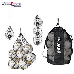 Jako-Ballnetz-Ballsack-Balltasche-fuer-1-3-10-oder-20-Fussbaelle-Training