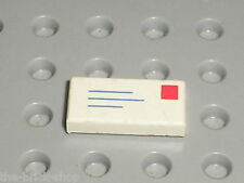 Lettre LEGO Tile 1 x 2 with Letter Pattern 3069bp01 / Set 10025 2150 4556 6362..