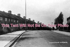 LO-66-Horsham-Avenue-Finchley-Barnet-London-c1920-6x4-Photo