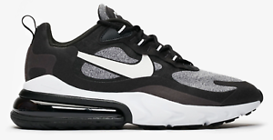 Details about New Nike Air Max 270 React AO4971 001 BlackVast Grey Mens Shoes n1