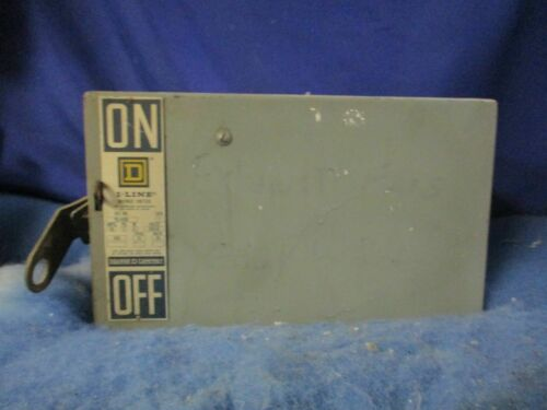 Square D PQ4606 I-Line Busway Disconnect Switch PLUG 60A 3P 4W 2 Year Warranty