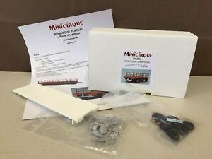 Kit A Monter Minicirque - Remorque Plateau Ref Mcm06 1/50