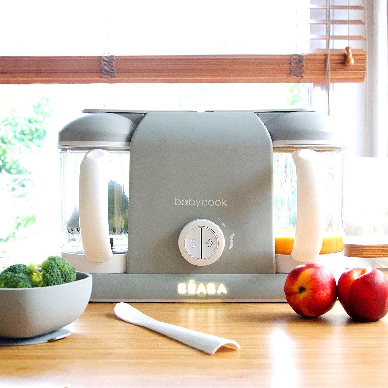 Béaba Babycook Robot de cocina Bebe 4 en 1 cuece mezcla descongela...
