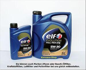 BERLINO-OLIO-MOTORE-ELF-EVOLUTION-FULL-TECH-FE-5W30-DPF-6-LITRO-5W-30