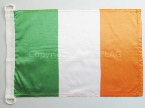 BANNER 12x18 in for IRISH FLAGS 30 x 45 cm IRELAND NAUTICAL FLAG 18/'/' x 12/'/'