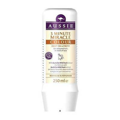 ** AUSSIE COLOUR MATE 3 MINUTE MIRACLE DEEP TREATMENT CONDITIONER 250ml ** NEW