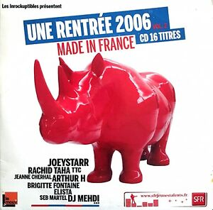 Compilation-CD-Les-Inrockuptibles-Une-Rentree-2006-Vol-2-Made-In-France