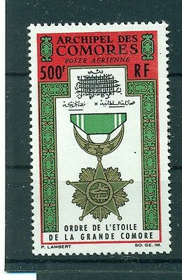 Honours Comoro Island 1964 Relieving Rheumatism Topical Stamps Original Decorazioni