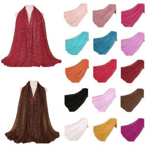 Women-Scarf-Long-Scarves-Shawl-Wrap-Headscarf-Hijab-Stole-Candy-Colors-Islamic