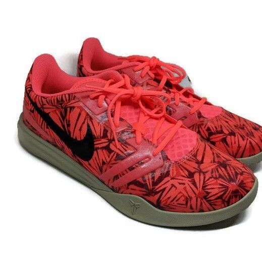 Nike Kobe Mentality Shoes Hot Lava Sequoia Daring Red 704942-800 Sz 13 Price reduction Comfortable and good-looking