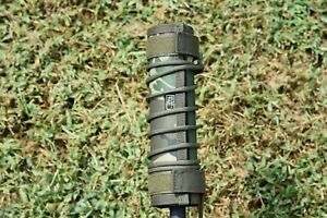 "HIGH TEMP Subtac ALPHA suppressor Cover Kit 8/"" Gray silencerco silencer"