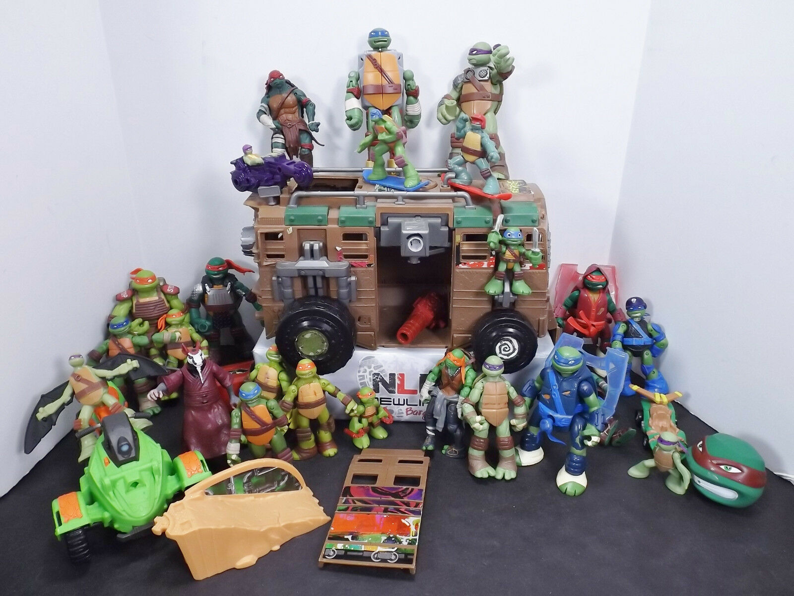 TMNT Teenage Mutant Ninja Turtles Toy Lot