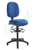 Medium Back Draughtmans Draftman High Counter Chair No Arms - Fast Dispatch