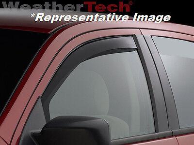 Dark Tint Volkswagen Passat WeatherTech Side Window Deflectors for 2012-2018