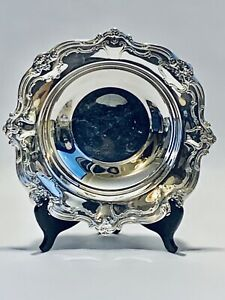 Stunning-Antique-19C-Victorian-Style-Gorham-English-Footed-Silver-Plated-Bowl