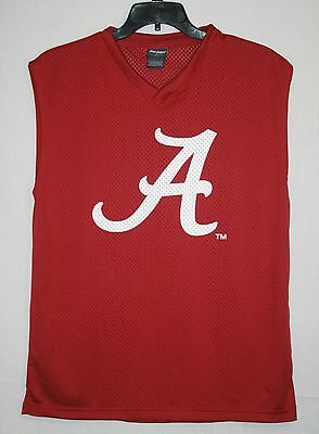 University of Alabama Crimson Tide Sleeveless Jersey Shirt Large Pro Edge L
