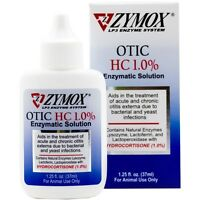 Zymox Otic 1.25oz With Hydrocortisone 1.0