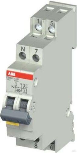 ABB Stotz Ausschalter LED gelb E211X-16-20