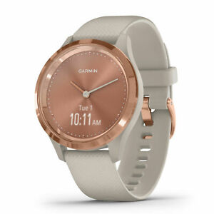 New Garmin Vivomove 3S Watch Rose/Tundra 39mm
