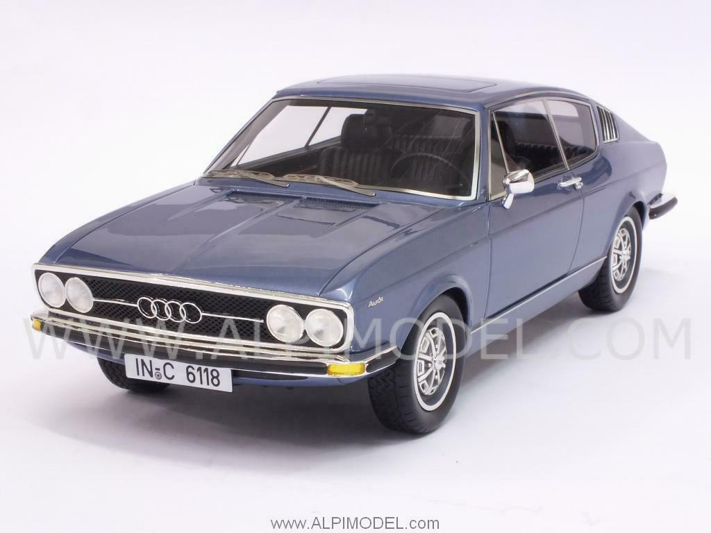 Audi 100S Coupe 1970 Metallic bluee 1 18 KK SCALE MODELS KKDC180001