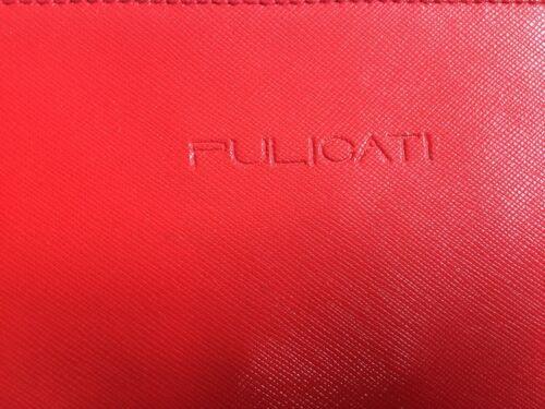 Italy Red Leather Handbag Pulicati Made In Yfyvb6g7