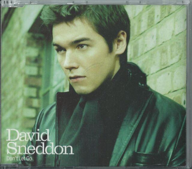 DAVID SNEDDON - DON'T LET GO 2003 EU ENHANCED VIDEO 'DON'T LET GO' CD SINGLE