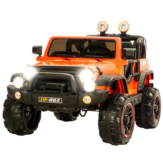 12v Kids Powered Ride On Cars Electric Battery Wheel Remote Control